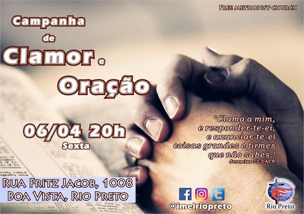 Campanha de Clamor e Oração