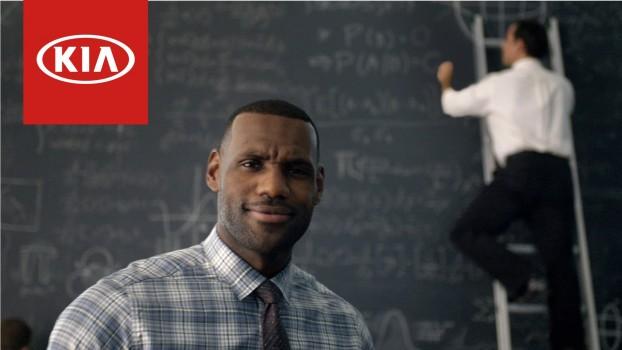 Las matemáticas demuestran que LeBron es de KIA
