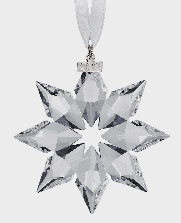 Swarovski  Annual Edition Crystal Star Ornament