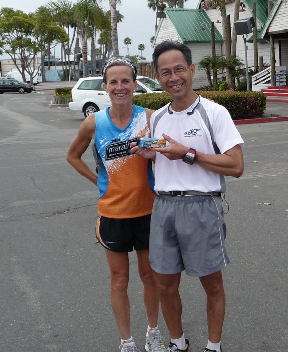 ... away energy bars  (http://aboutlifeandrunning.blogspot.com/2011/07/running-afterglow.html).  This is Kathleen , a very speedy runner who is sponsored by ...