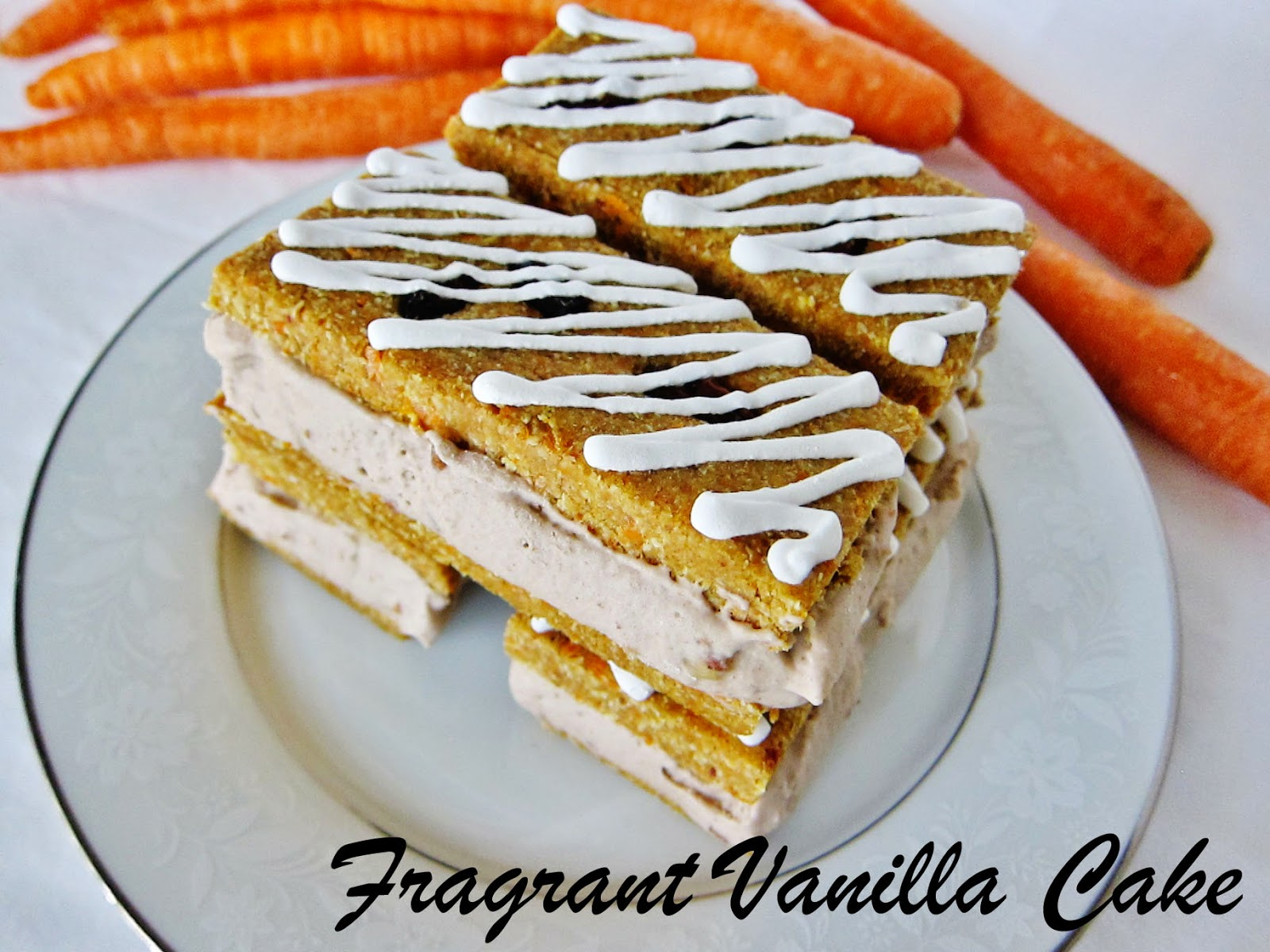 Raw Carrot Cake Ice Cream Sandwiches with Caramel Pecan Ice Cream