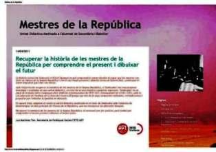 Blog mestres de la República