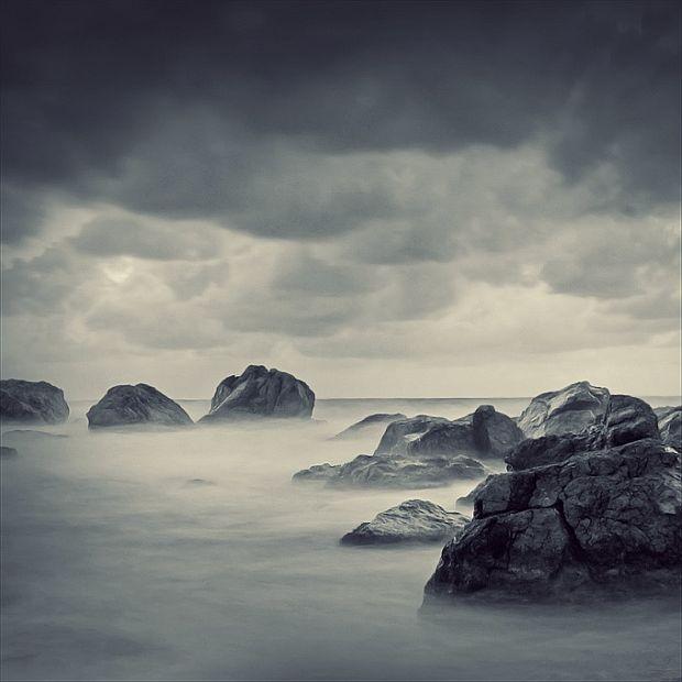 Mgła na morzu