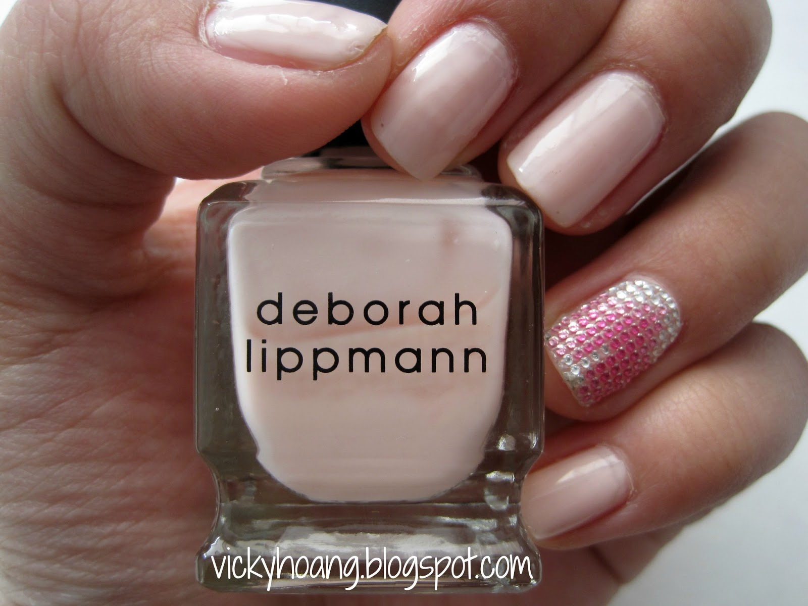 Review and Swatches: Deborah Lippmann Nail Lacquer in Before He ...
