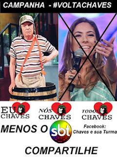 Campanha Volta Chaves pro SBT