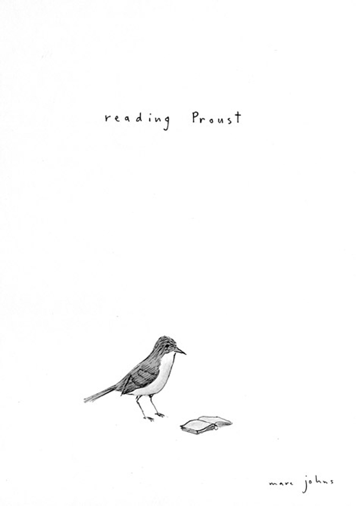 Marc Johns drawings
