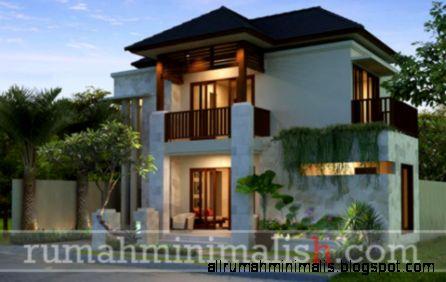 Gambar Rumah Minimalis Modern 2 Lantai  Rumah Minimalis