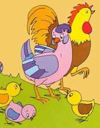 Maricoco y sus pollitos