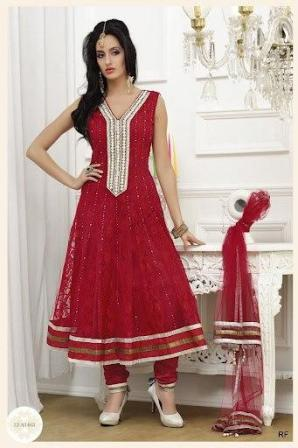 Bridal-Party-Wear-Anarkali-Frocks