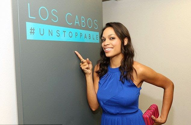 The wish was here! Rosario Dawson looked radiant and fresh at night gala of the Los Cabos International Film Festival at Mexico on Saturday, November 15, 2014.