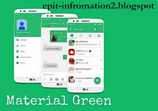 BBM Beta Mod Theme Green Material V 2.9.0 [connected]