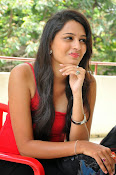 Swetha Jadhav glam pics in red top-thumbnail-8