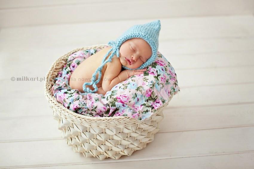 fotografia noworodkowa, sesja zdjęciowa niemowląt, fotograf dziecięcy, studio fotografii noworodkowej, MILKart