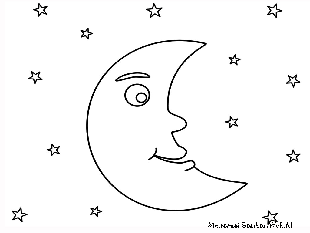 Gambar Bulan Dan Bintang Related Keywords & Suggestions Gambar Bulan