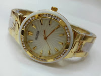 Jam Tangan Ladies GUESS 8030 Gold