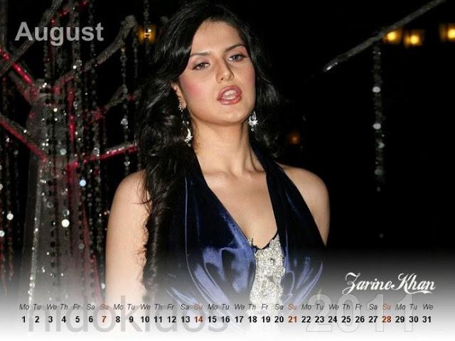 hot celebrities pics zarine khan bollywood actress sexy pics photos hot for calendar 2011