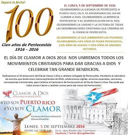 SEPARA LA FECHA, EL MISMO DIA, 2 GRANDES EVENTOS: LUNES, 5 DE SEPTIEMBRE DE 2016.