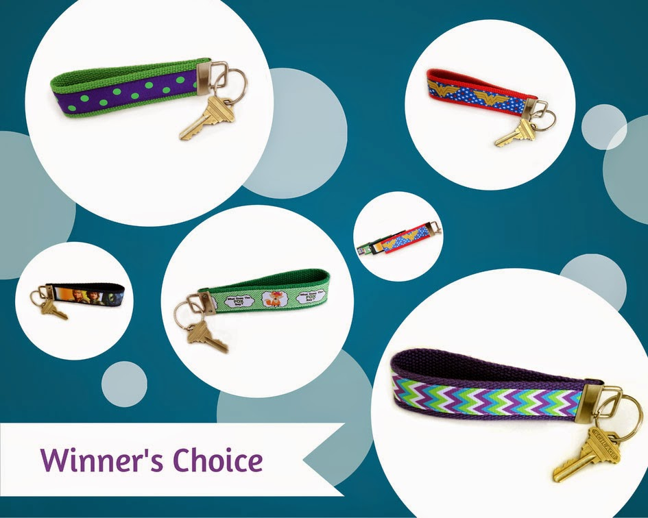 DeBoop Shop Key Fob Wristlet Giveaway on April Sprinkles