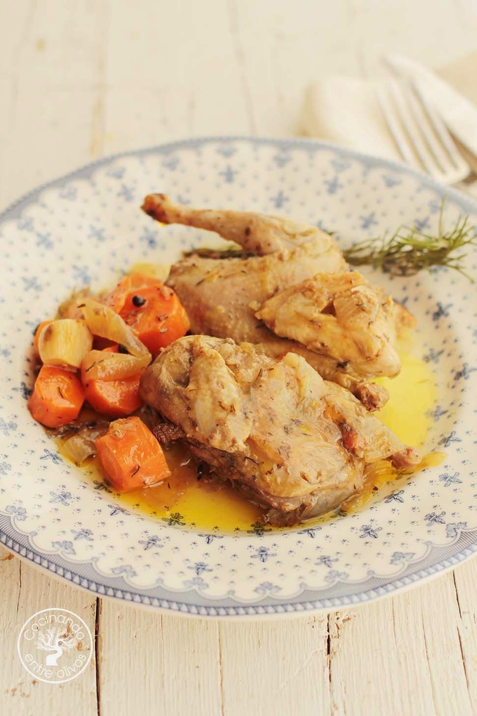 Cocinando entre olivos perdiz en escabeche receta paso a - Cocinando entre olivos ...