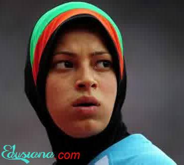 Atlet Cantik Muslim Afganistan
