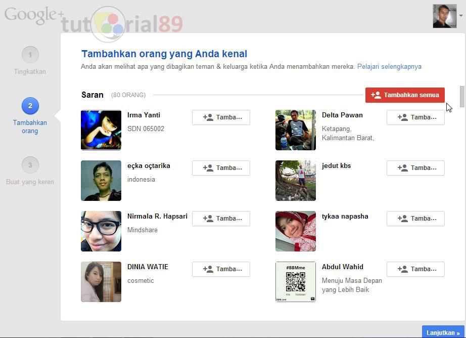 Cara mudah menambah follower google+