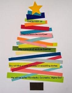 Orthodox christian education christmas bible verse craft for Christmas bible crafts for kids