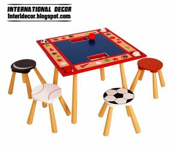 children table designs and chair set 2014, sports design