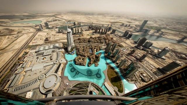 tòa nhà Buri Khalifa ở Dubai