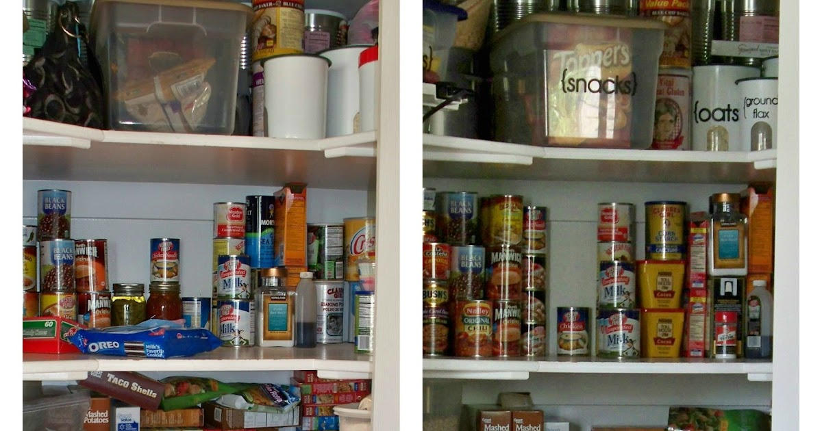 3 Steps To An Organized Pantry Adventures Of A Diy Mom