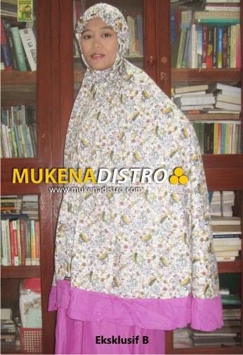MUKENA DISTRO | EKSKLUSIF B | READY
