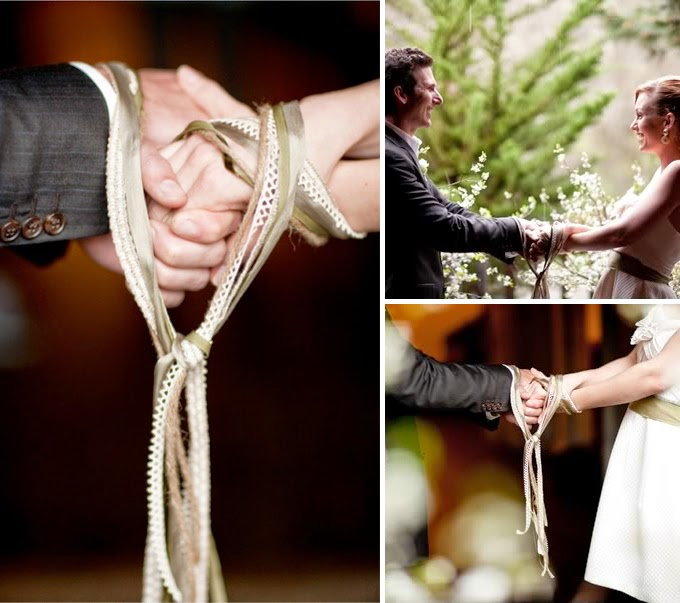 Handfasting Wedding Unity Ceremony