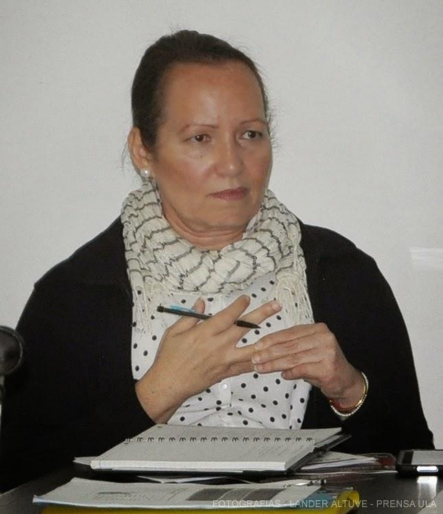 La Lic. Ana Mercedes Castellanos, manifestó que esperan por la decisión de la Facijup, para concretar la propuesta. (Foto: Lánder Altuve)