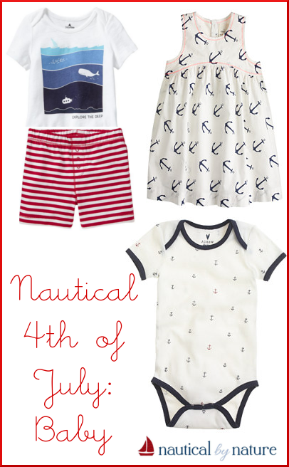 Nautical by Nature | 4th of July: Baby
