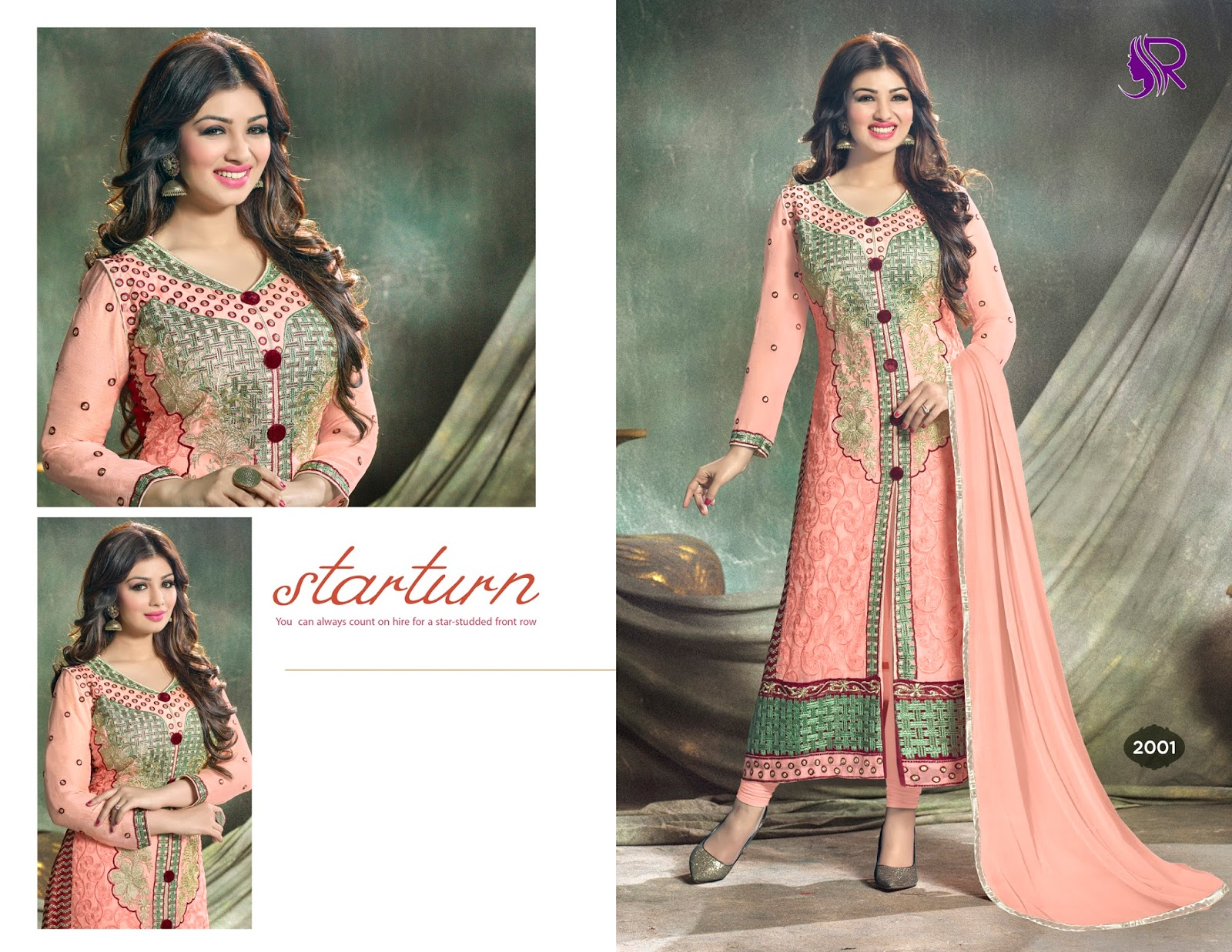 Chakor – Aayesha Looking Awesome In Designer Salwar Suit