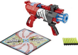 Amazon : Buy Boom Twisted Spinner Iso Blaster & Different Color at Flat 72% Off Worth Rs.2499 at Rs.699