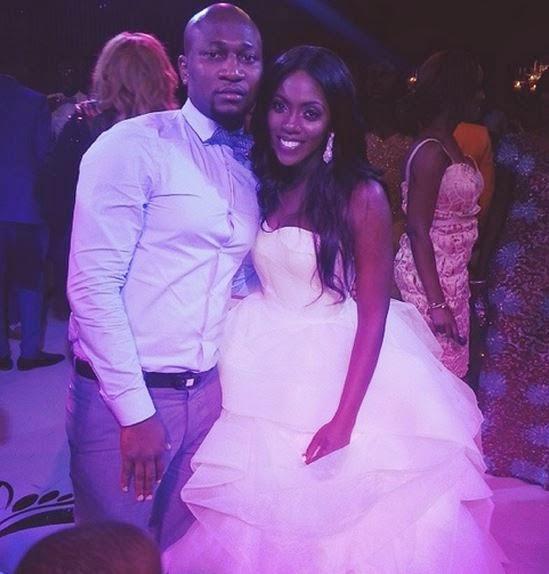 Tiwa and her new manager emeka