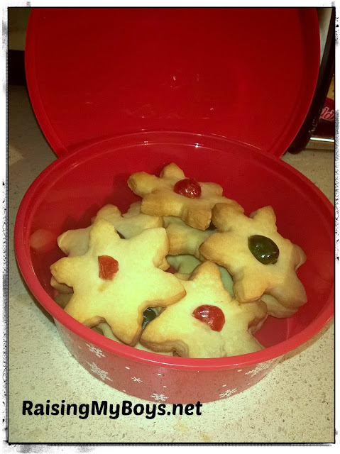 Holiday Shortbread with Gay Lea Butter
