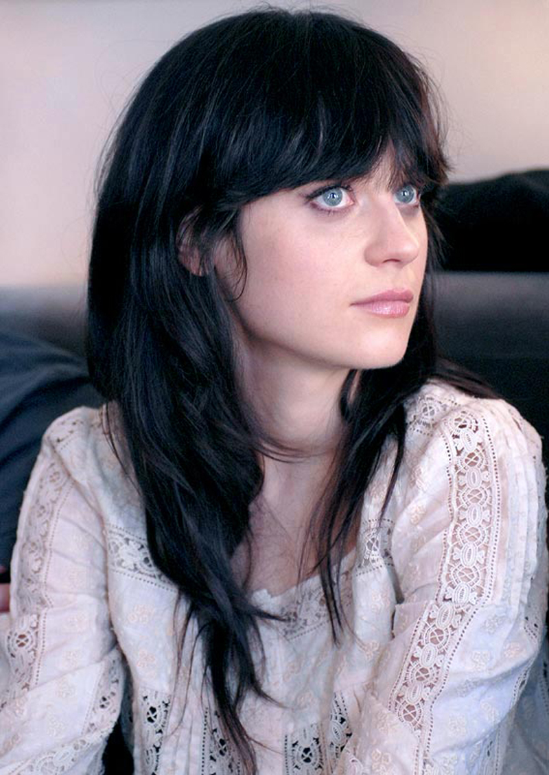 Fresh Look Celebrity Zooey Deschanel Hairstyles 06