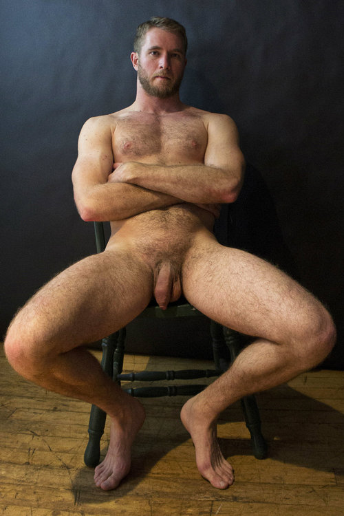Hairy Blonde Men Nude