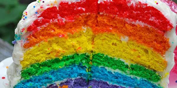 foto rainbow cake inilah com awal mula rainbow cake tren