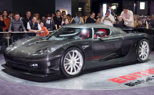 Mobil Sport Terbaik di Dunia - Koenigsegg CCX