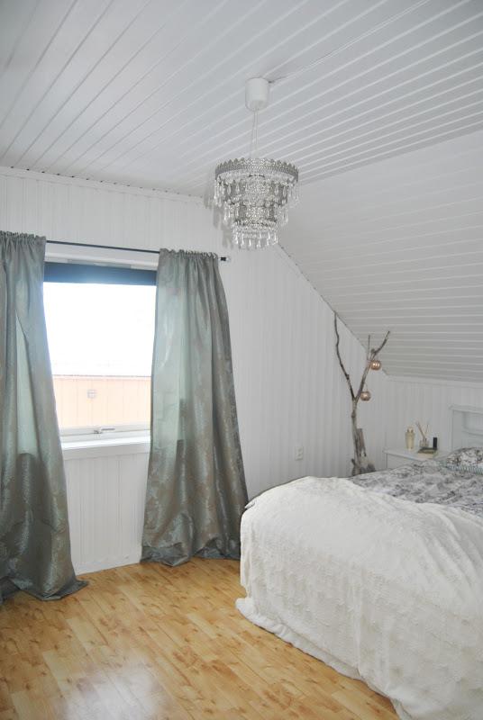 Shabbystyle suzi: grønne gardiner på soverom