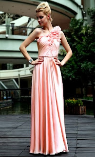 Formal Silk Satin Bridal Gown