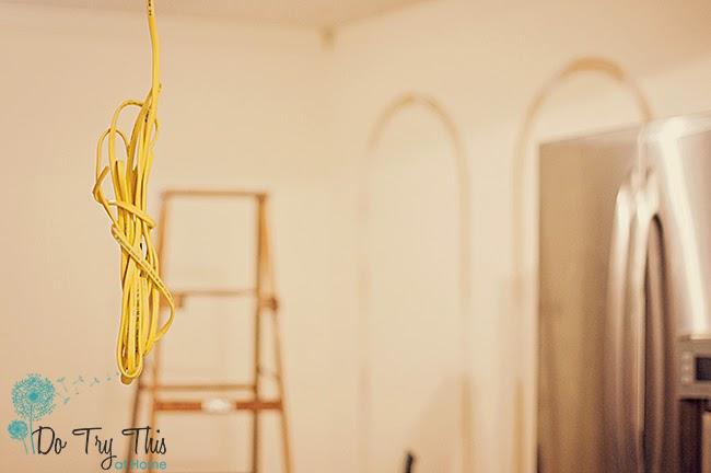 kitchen renovation diy ceiling lighting