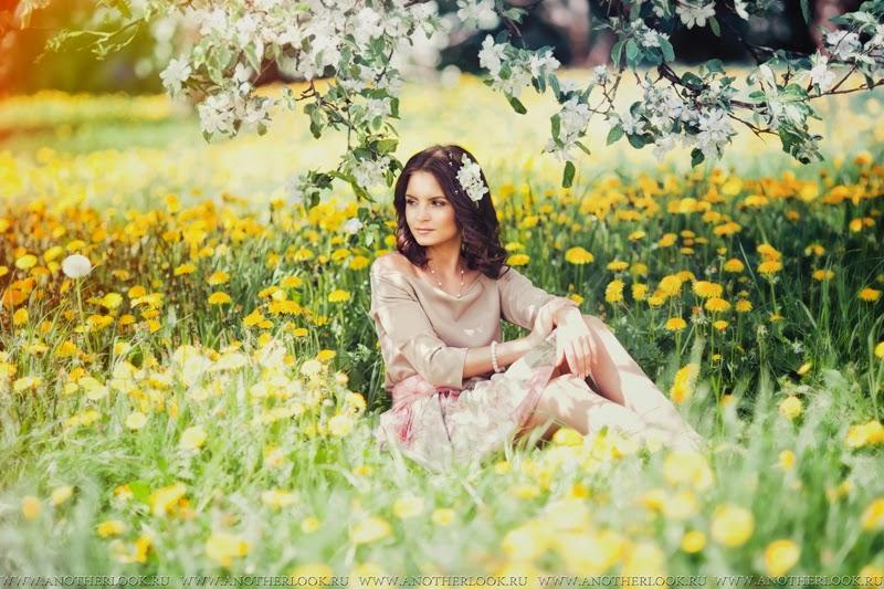 яблоневый сад фотосессия