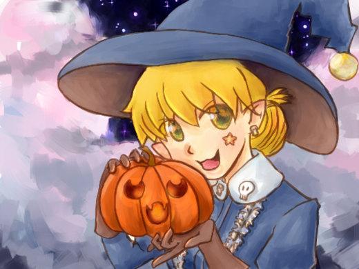 Helloween witch por MaxwellDuo