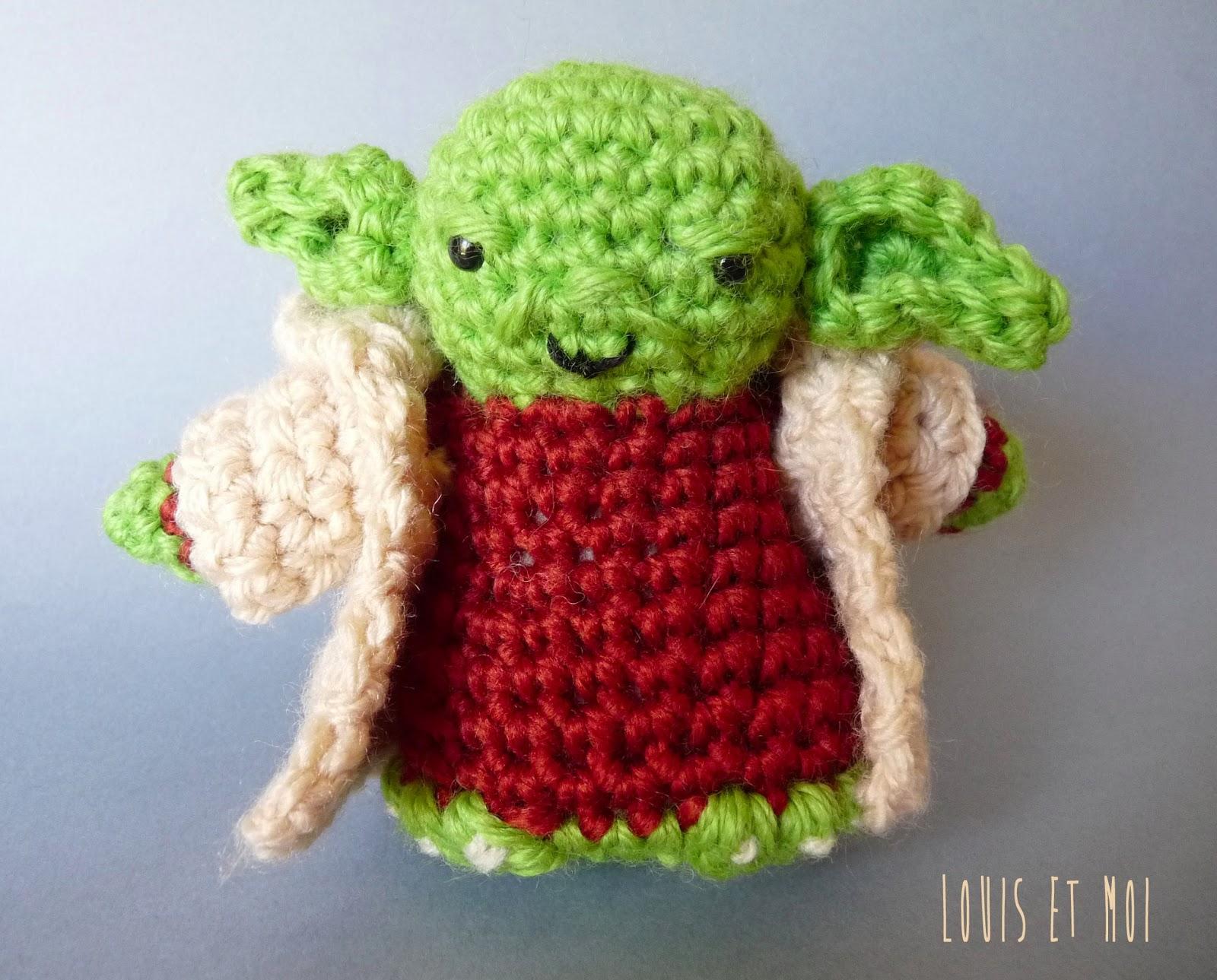 Amigurumi Maestro Yoda : Louis et Moi (cosen y hacen crochet): junio 2013