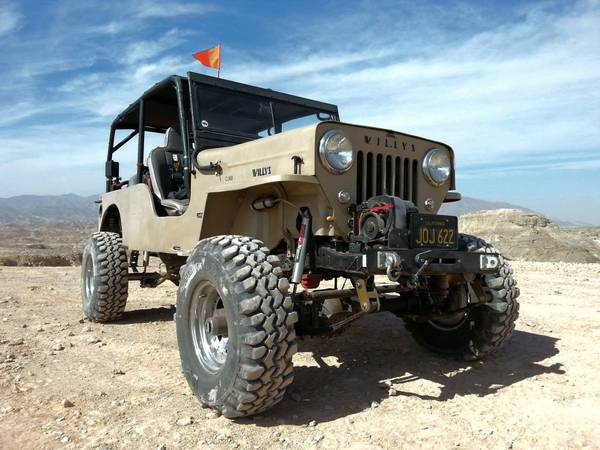 1960 Willys Jeep CJ3B For Sale