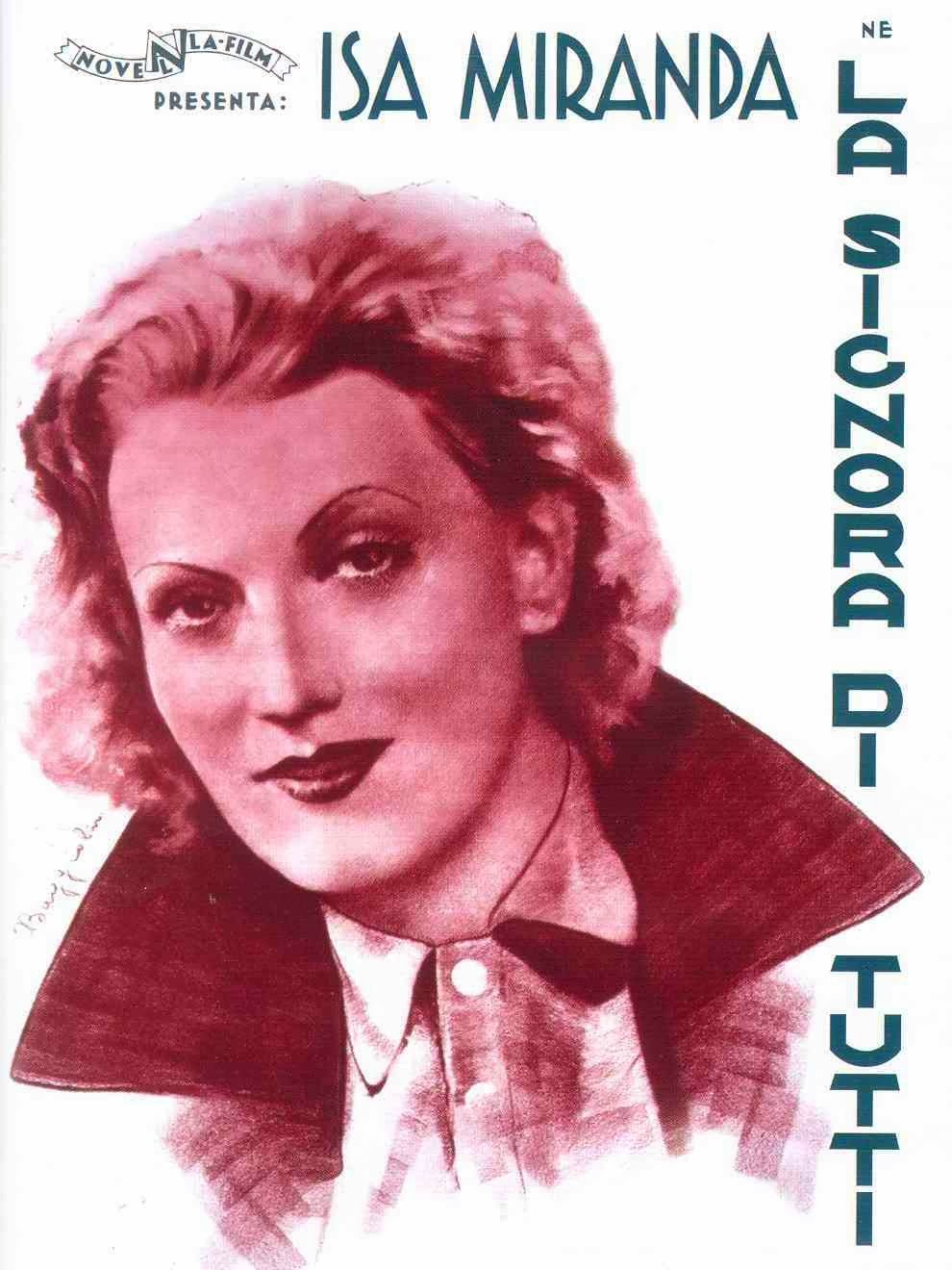 Ver película : La mujer de todos, La signora di tutti de 1934 -Max Ophïls-