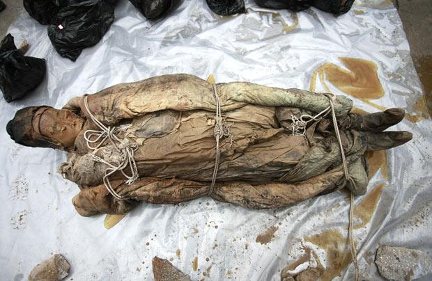 Misteri Sosok Mumi di China Dengan Kondisi Utuh